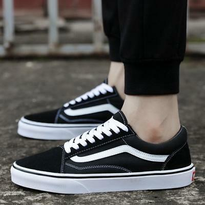 b3a3a2b47c Hot Classic OLD SKOOL Low High Top Suede Canvas sneakers SK8 MENS Womens  Shoes