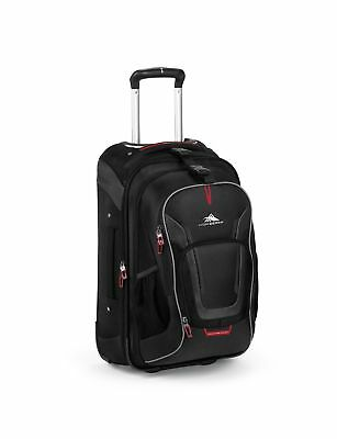 bdb84d6fb3e6 High Sierra AT7 Carry-on Wheeled Backpack with removable daypack Black  22-Inch