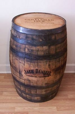 Gentleman Jack Lynchburg, TN  Whiskey Barrel Branded- Engraved-FREE SHIPPING