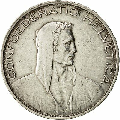 [#482650] Coin, Switzerland, 5 Francs, 1925, Bern, EF(40-45), Silver, KM:38