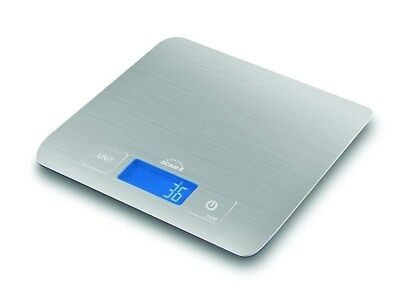 Scaleit Digital Multifunction Kitchen and Food Scale, Brushed Stainless Steel