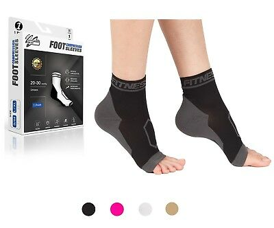 Plantar Fasciitis Compression Socks Foot Arch Support Pain Heel Relief Splint