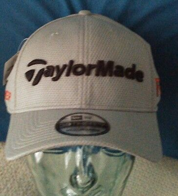 35e286bbd0140 NEW TaylorMade R15 Aero Burner New Era 39 Thirty Gray Fitted Men Hat Golf  Cap