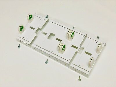 LED Retrofit Kit 8' Foot T12 or T8 Strip Fixture to 4 Foot T8 LED Lamps