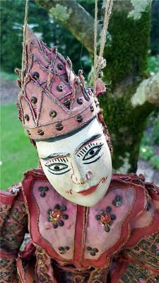 Antique 22 in Traditional Myanmar Burma string puppet marionette doll Yoke Thay