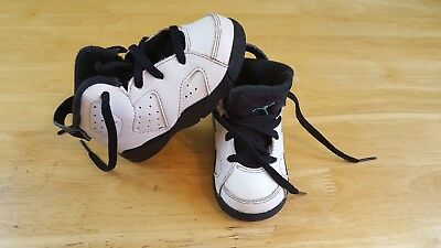new concept c4910 25d14 NIKE JORDAN RETRO 6 - Boys Toddler Basketball Shoes Size 7 C child