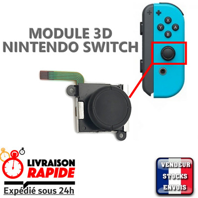 Joystick Module 3D Stick  Analogique axe direction pour joycon NINTENDO SWITCH