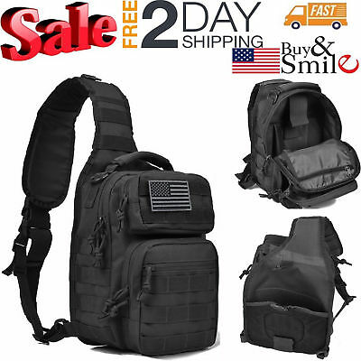 c560711fd57f MOLLE TACTICAL URBAN Go Backpack Pack 3 Day Patrol Hiking Pack Bag ...