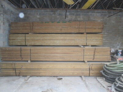 Scaffold Planks 16' OSHA clipped pinned and Pressure treated 500 available