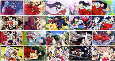 20 cards InuYasha Card Paster Card Stickers A019