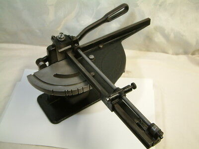 Letterpress Hand Mitering Machine H.B. Rouse ca.1910 Excellent Working Condition