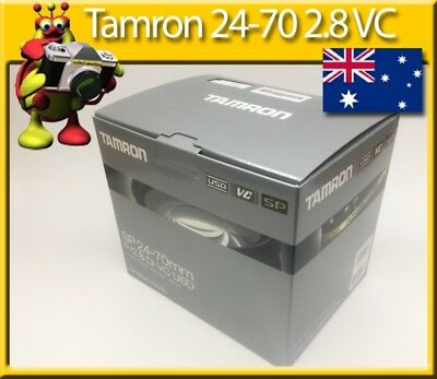 Tamron SP AF 24-70mm F2.8 Di VC USD for Nikon 2yr Australian Warranty