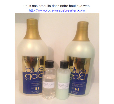 LISSAGE SALVATORE BLUE GOLD KIT 100 ml