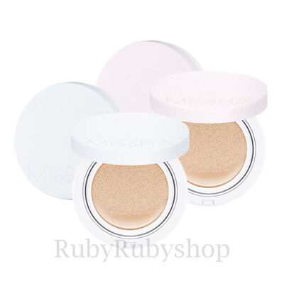 [MISSHA] Magic Cushion Cover Lasting / Moist Up SPF50+ PA+++ [RUBYRUBYSTORE]