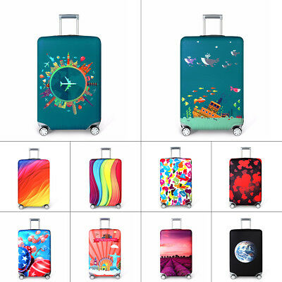 "18""~32"" Elastic Travel Luggage Suitcase Cover Protector Anti Scratch Dustproof"