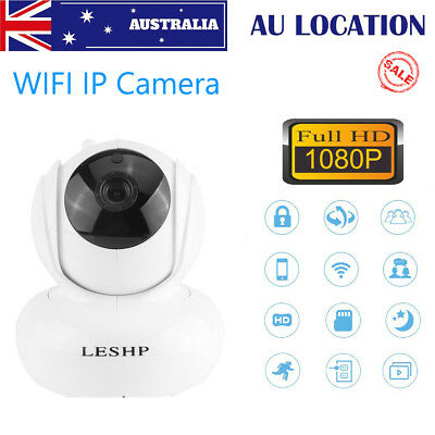Wireless IP Camera WIFI HD 1080P Monitor CCTV Security Surveillance Night Vision