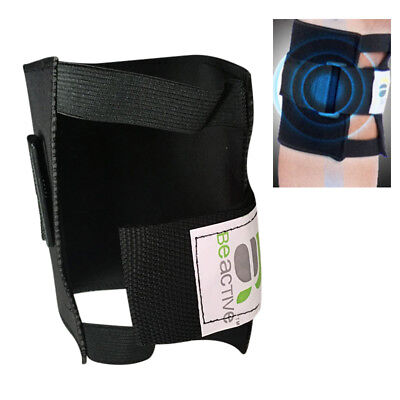 Genouillère jambe genou Acupressure Pads support protection Point nerf sciatique