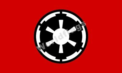 Galactic Empire (Star Wars) Flag 3X2FT 5X3FT 6X4FT 8X5FT 100D Polyester Banner