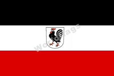 Micronation Flag Kingdom of Lovely 3X2FT 5X3FT 6X4FT 8X5FT 100D Polyester