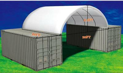 20ft / 40FT SHIPPING CONTAINER CANOPY / SHELTER, shed,STEEL BUILDING ,tractor