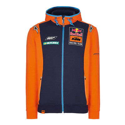 Red Bull Zip-Hoody KTM Official Teamline Navy/Orange