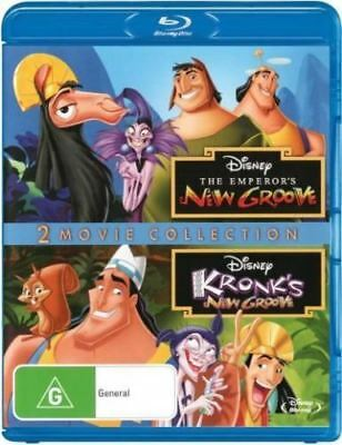 The Emperor's New Groove & Kronk's New Groove 2 Blu-ray Region Free ABC New