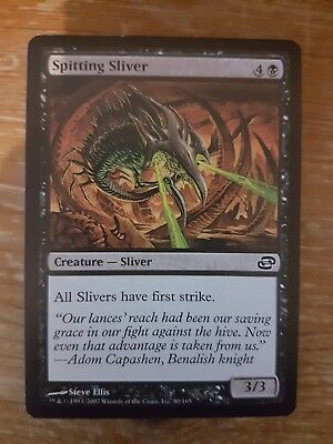 1x SPITTING SLIVER - Rare - Planar Chaos - MTG -  - Magic the Gatherin