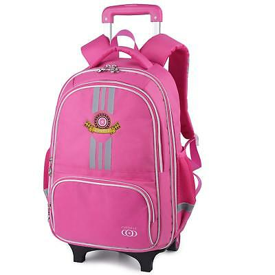 86fce4c768c1 COOFIT School Backpacks with Wheels Trolley Rolling Backpack Children s  Backpack