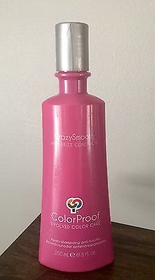 Colorproof Crazysmooth Anti-Frizz Conditioner  8.5 Oz Free Shipping