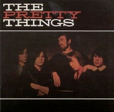Pretty Things Self Titled 6 Extra Tracks Remastered DIGIPAK CD NEW