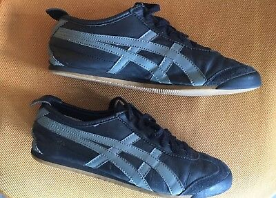 watch e4eb2 d2d7a ONITSUKA TIGER MEXICO 66 leather navy/black light blue/grey Men's 7 -  Women's 9