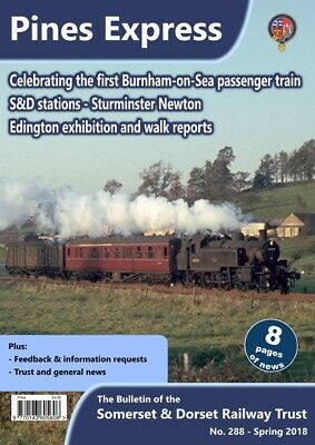 Somerset and Dorset Railway Trust; S&D, Pines Express 288 - Spring 2018