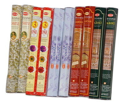 HEM MIXED BULK INCENSE STICKS - 10 Packets - 200 Sticks