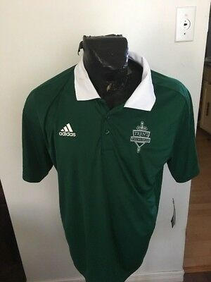 MENS LARGE ADIDAS Collared Shirt TRENT EXCALIBERS NWT NEW WITH TAGS