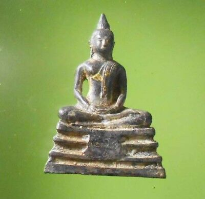 Hot Statue Lp Sotorn Thai Power Buddha Amulet Very Real Rare !!!