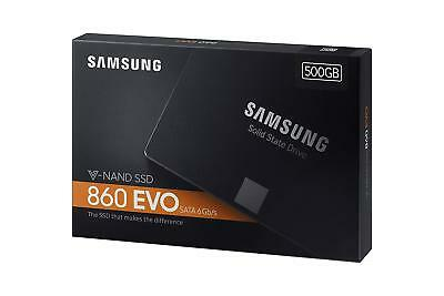 "New SAMSUNG 860 EVO Series 2.5"" 500GB SATA III V-NAND 3-bit MLC Internal SSD"