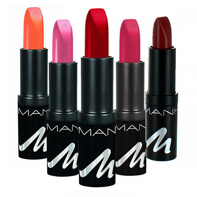 Manhattan X-TREME LAST & SHINE Lipstick Lip Colour Make Up Red Brown Pink Red