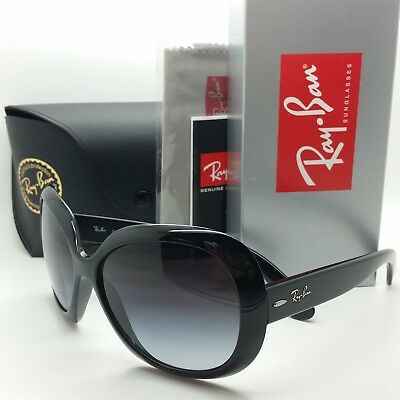 NEW Rayban Jackie Ohh ll Sunglasses RB4098 601/8G Black Grey Gradient AUTHENTIC