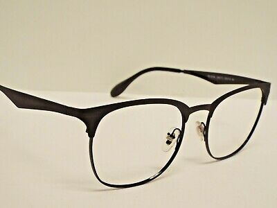 7e468a8f7 Authentic Ray-Ban RB 3538 186/71 Black Clubmaster Sunglasses Frame $200