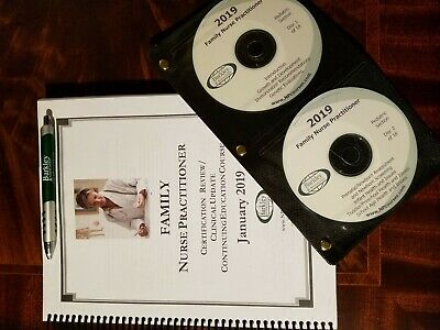2019 Barkley FAMILY Nurse Practitioner Review Book with 18 CDs & 100 QUESTIONS
