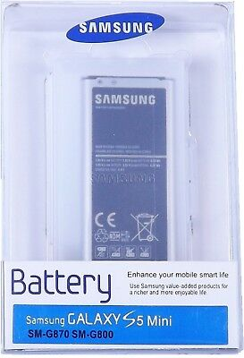 Samsung Galaxy S5 Mini Battery in Retail Packaging
