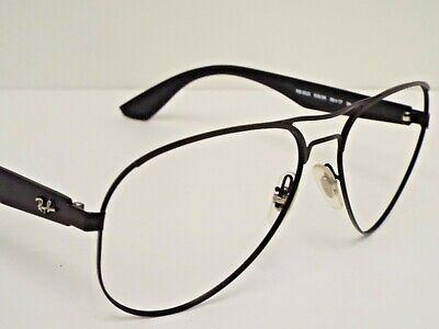 357ff81a84 Authentic Ray-Ban RB 3523 006 6G Matte Black Aviator Sunglasses Frame  198