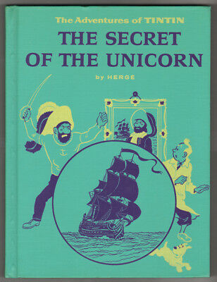 "VENTE Hergé Lot 216 TINTIN ""The Secret of the Unicorn"" Goldencraft 1959   Neuf"