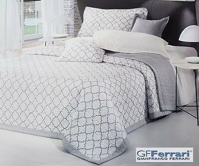 Made In Italy Double-face 260 X 270 Quilts, Bedspreads & Coverlets Bedding Tagesdecke Stepp Hochzeits