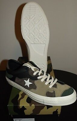 1c8e5d0afc4bd Sneakersnstuff x Converse One Star SNS Camo Size 10/FREE SHIPPING 100%  Authentic