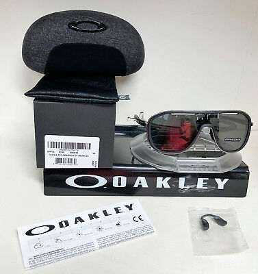 70808438fd36e NEW OAKLEY OUTPACE SUNGLASSES BLACK ICE   PRIZM BLACK OO4133-0226 ...