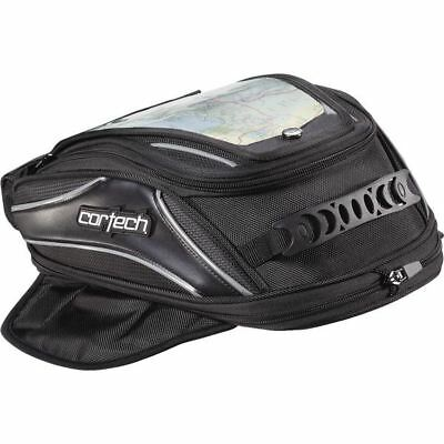 Black Cortech Super 2.0 Low Profile Magnetic Mount Tank Bag