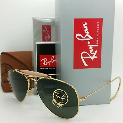 ef5077be716 NEW Rayban Outdoorsman sunglasses RB3030 L0216 58 Airsta Classic G-15  AUTHENTIC