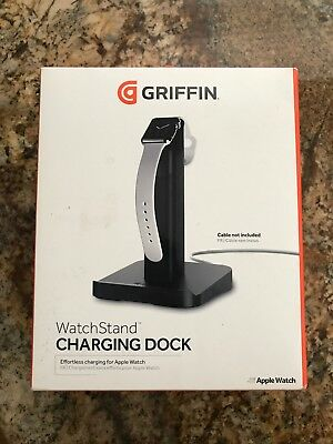 New Griffin WatchStand Charging Dock [Dual Stand] [for Apple Watch and Iphone