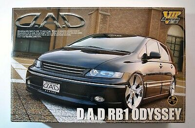 "Aoshima 1:24 Scale ""D.A.D."" Honda Odyssey Model Kit New VIP American # 033538"